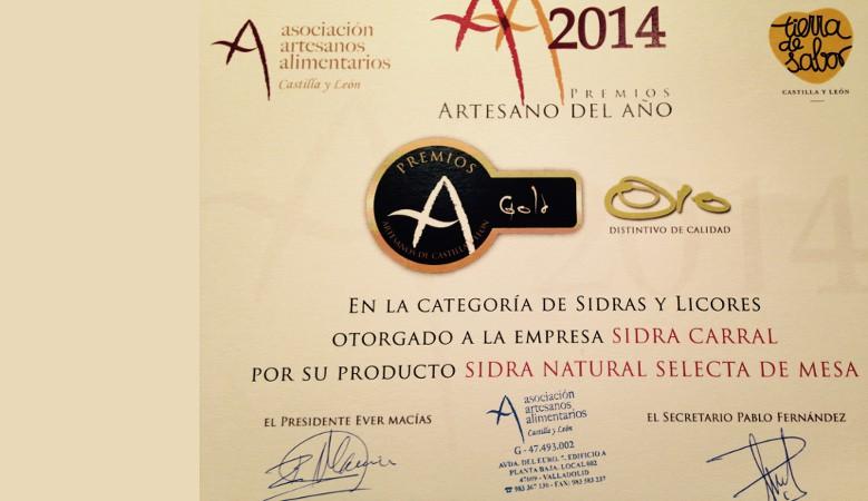 Premio Artesano del año 2014